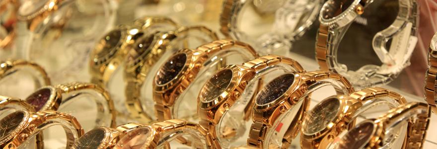 montres de luxe en Or