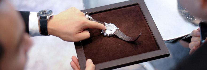 montre de luxe d'occasion