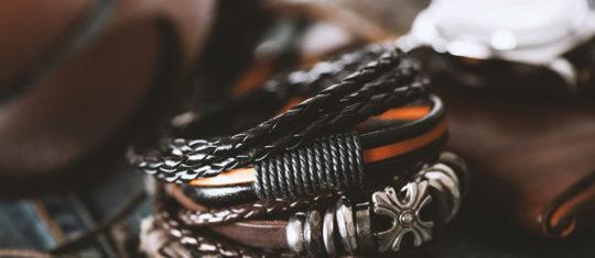bracelet cuir personnalisé à son homme